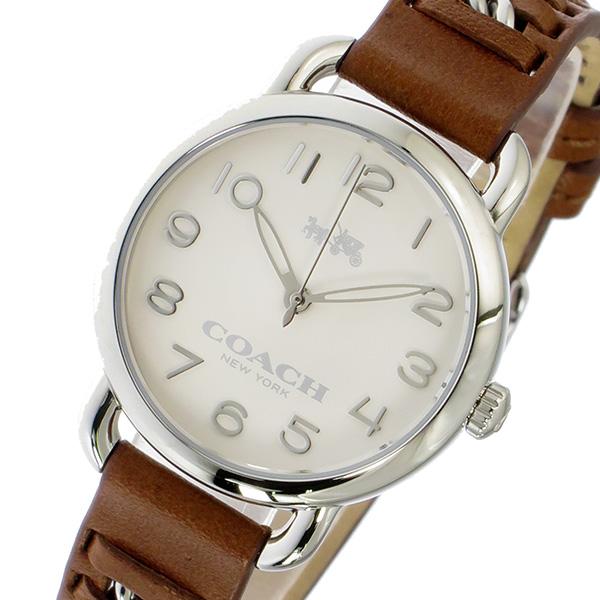 コーチ COACH デランシー DELANCEY クオーツ レディース 腕時計 ブランド 14502258 ホワイト