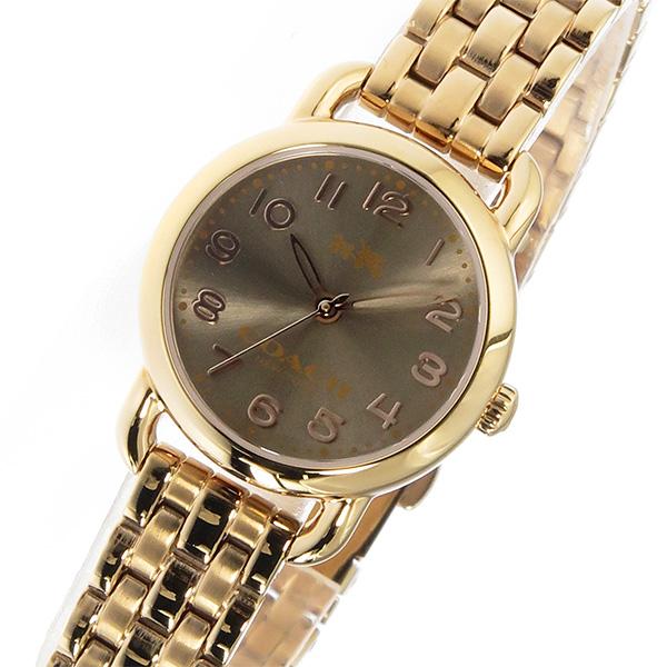 コーチ COACH デランシー DELANCEY クオーツ レディース 腕時計 ブランド 14502281 ブラウン