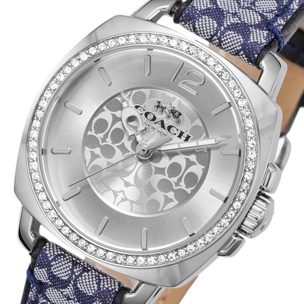 コーチ COACH ボーイフレンド クオーツ レディース 腕時計 ブランド 14502417 シルバー
