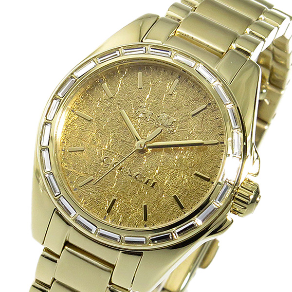 コーチ COACH トリステン クオーツ レディース 腕時計 ブランド 14502460 ゴールド