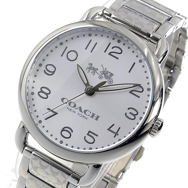 コーチ COACH クオーツ レディース 腕時計 ブランド 14502495 シルバー