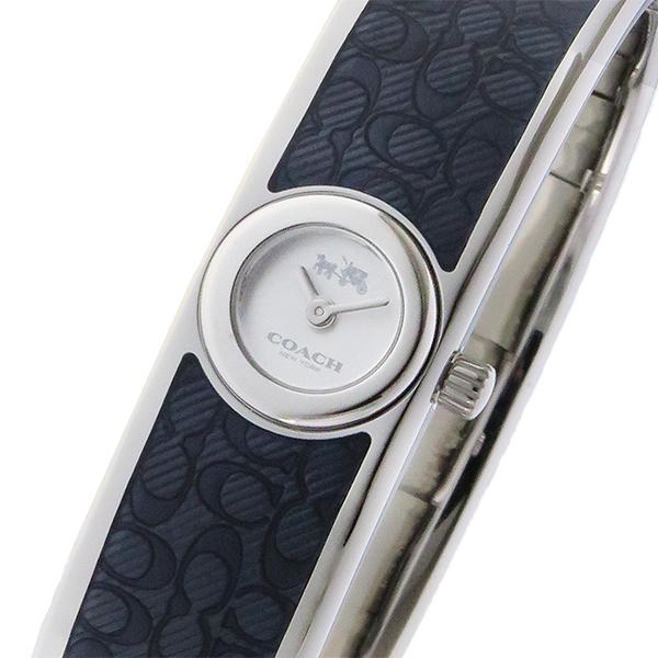 コーチ COACH スカウト Scout クオーツ レディース バングル 腕時計 ブランド 14502620 シルバー