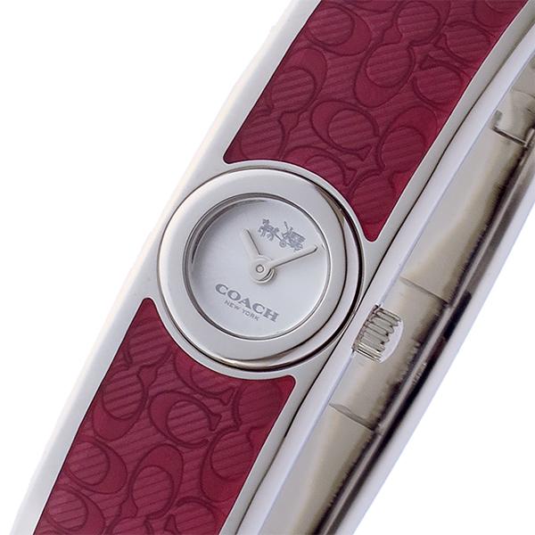 コーチ COACH スカウト SCOUT クオーツ レディース 腕時計 ブランド 14502621 シルバー/ホワイト