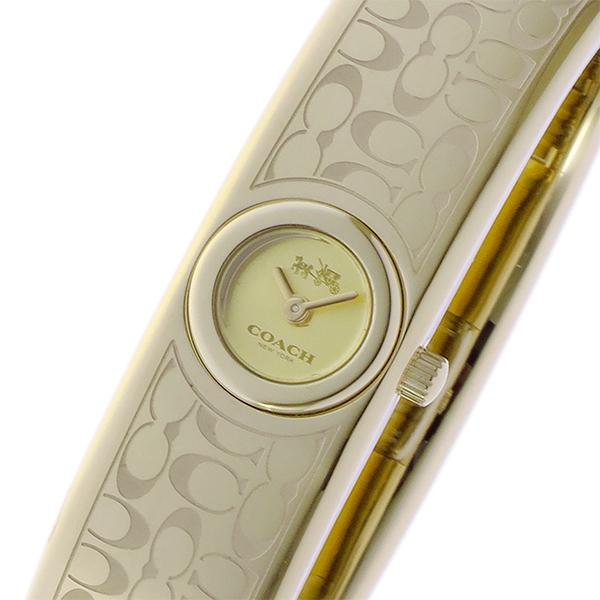 コーチ COACH スカウト SCOUT クオーツ レディース 腕時計 ブランド 14502625 イエローゴールド