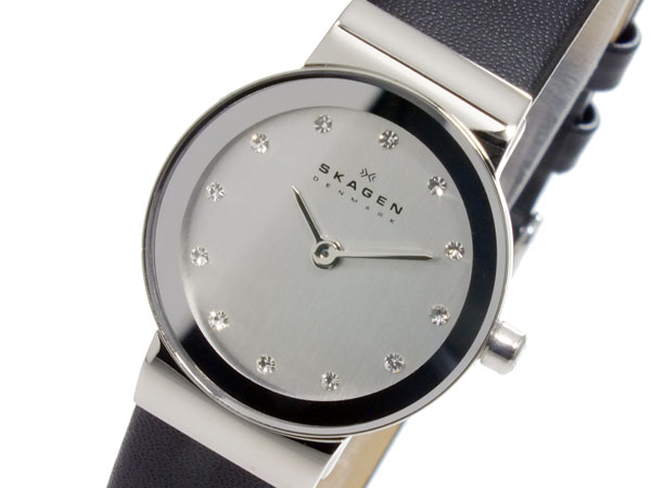 【3年保証】 スカーゲン メンズ レディース ユニセックス 腕時計 SKAGEN 時計 スカーゲン 時計 SKAGEN 腕時計 人気 クオーツ ブランド 358XSSLBC シルバー スカーゲン レディース