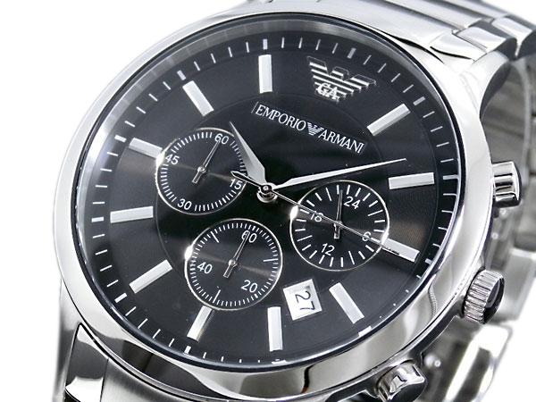 エンポリオ アルマーニ 時計 EMPORIO ARMANI 腕時計 クロノ クオーツ メンズ AR2434 エンポリオ アルマーニ 時計