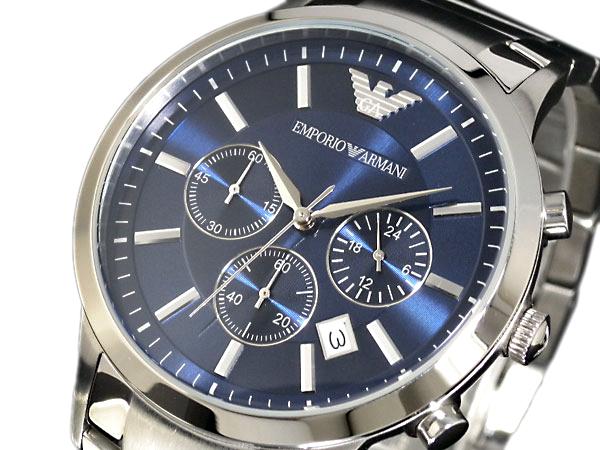 エンポリオ アルマーニ 時計 EMPORIO ARMANI 腕時計 メンズ クロノ AR2448 エンポリオ アルマーニ 時計