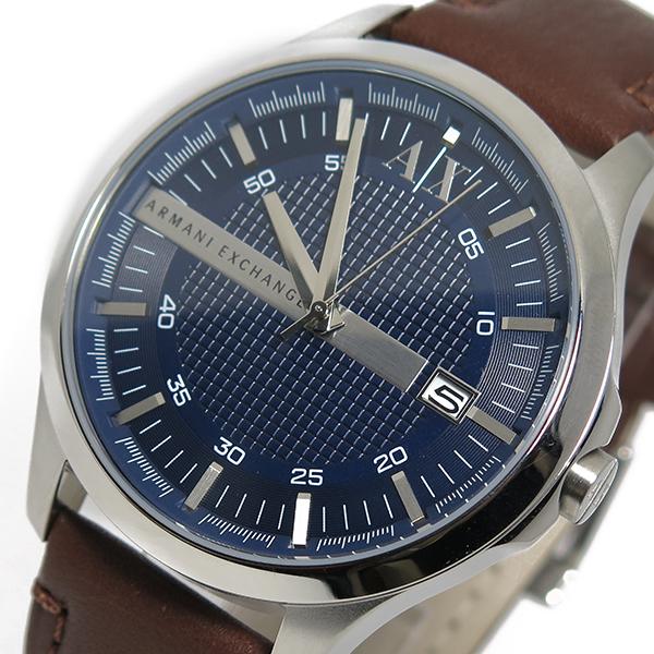 アルマーニ エクスチェンジ 時計 ARMANI EXCHANGE 腕時計 クオーツ メンズ AX2133 ネイビー アルマーニ エクスチェンジ 時計