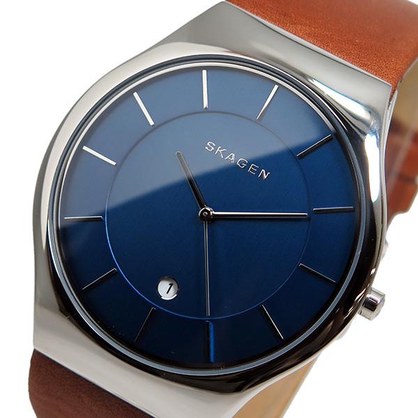 【3年保証】 スカーゲン メンズ レディース ユニセックス 腕時計 SKAGEN 時計 スカーゲン 時計 SKAGEN 腕時計 人気 クオーツ SKW6160 ブルー スカーゲン レディース