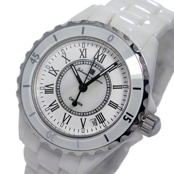 サルバトーレ マーラ SALVATORE MARRA クオーツ メンズ ローマ数字 腕時計 SM15120-WHR ホワイト
