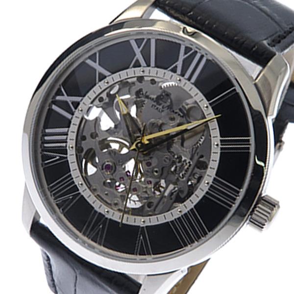 サルバトーレ マーラ SALVATORE MARRA 手巻式 メンズ 腕時計 SM16101-SSBK ブラック