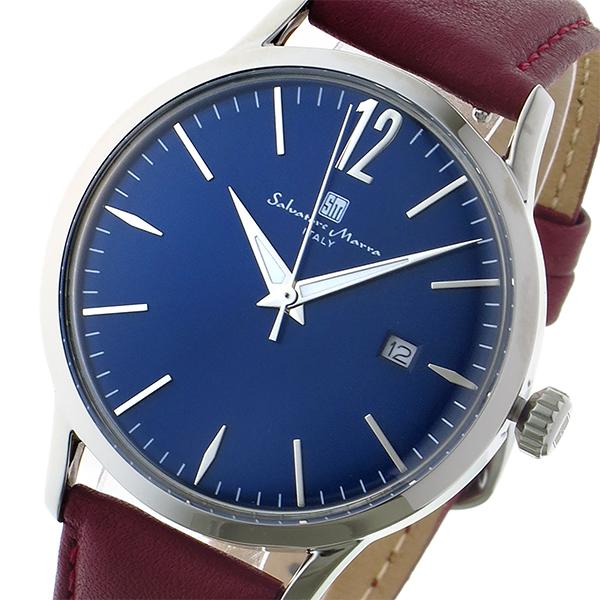サルバトーレ マーラ SALVATORE MARRA 変えベルト付き クオーツ メンズ レディース ユニセックス 腕時計 ブランド SM17116-SSBL ブルー/シルバー