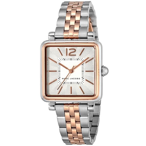 マーク ジェイコブス MARC JACOBS VIC30 ヴィク30 クオーツ レディース 腕時計 ブランド MJ3463 シルバー