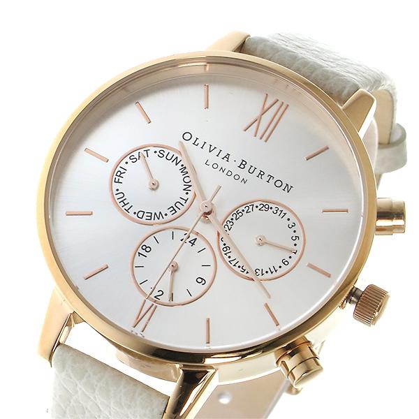 オリビアバートン 腕時計 Olivia Burton 時計 オリビアバートン 時計 Olivia Burton 腕時計 レディース クオーツ 腕時計 ブランド OB13CG01C シルバー オリビアバートン 腕時計