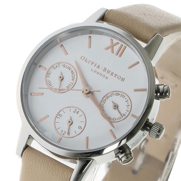 オリビアバートン 腕時計 Olivia Burton 時計 オリビアバートン 時計 Olivia Burton 腕時計 レディース クオーツ 腕時計 ブランド OB16CGM66 シルバー オリビアバートン 腕時計