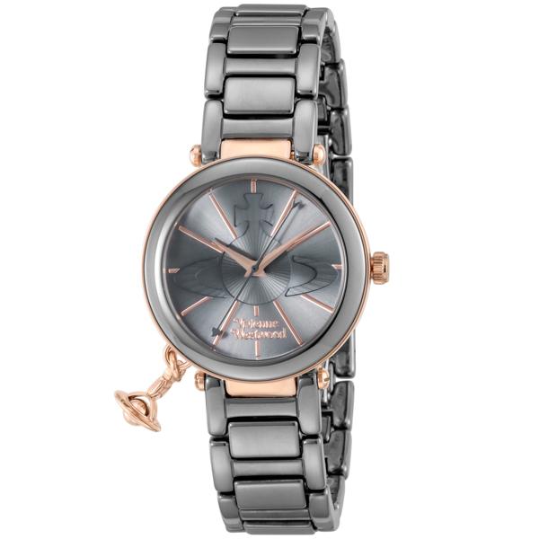 ヴィヴィアン ウエストウッド Vivienne Westwood ケンジントン レディース 腕時計 ブランド VV067SLTI シルバー
