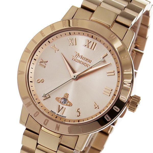 ヴィヴィアン ウエストウッド Vivienne Westwood クオーツ レディース 腕時計 ブランド VV152RSRS ローズ 【あす楽】