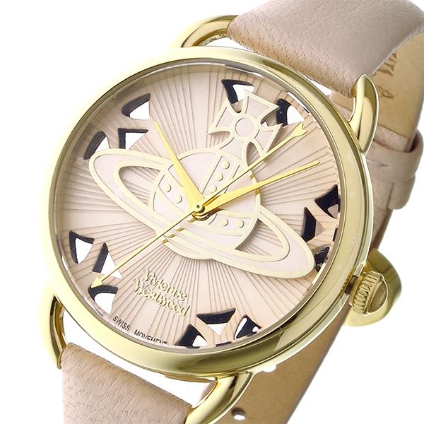 ヴィヴィアン ウエストウッド Vivienne Westwood リーデンホール レディース 腕時計 ブランド VV163BGPK ベージュゴールド/ピンク