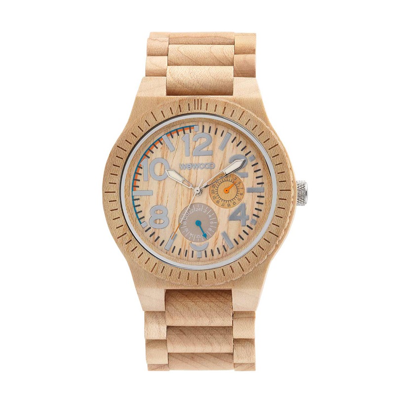 WEWOOD ウィーウッド 正規品 KARDO BEIGE 木製腕時計 NATURAL WOOD ナチュラルウッド ハンドメイド 9818039