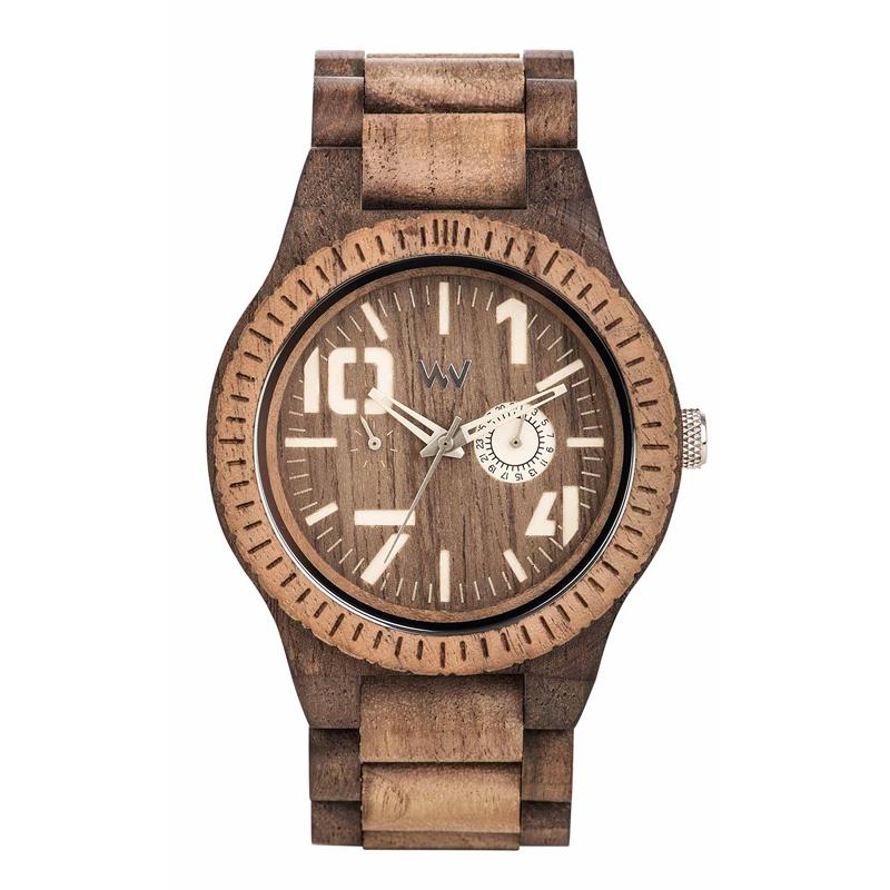 WEWOOD ウィーウッド 正規品 OBLIVIO CHOCO NUT ROUGH 木製腕時計 NATURAL WOOD ナチュラルウッド ハンドメイド 9818124