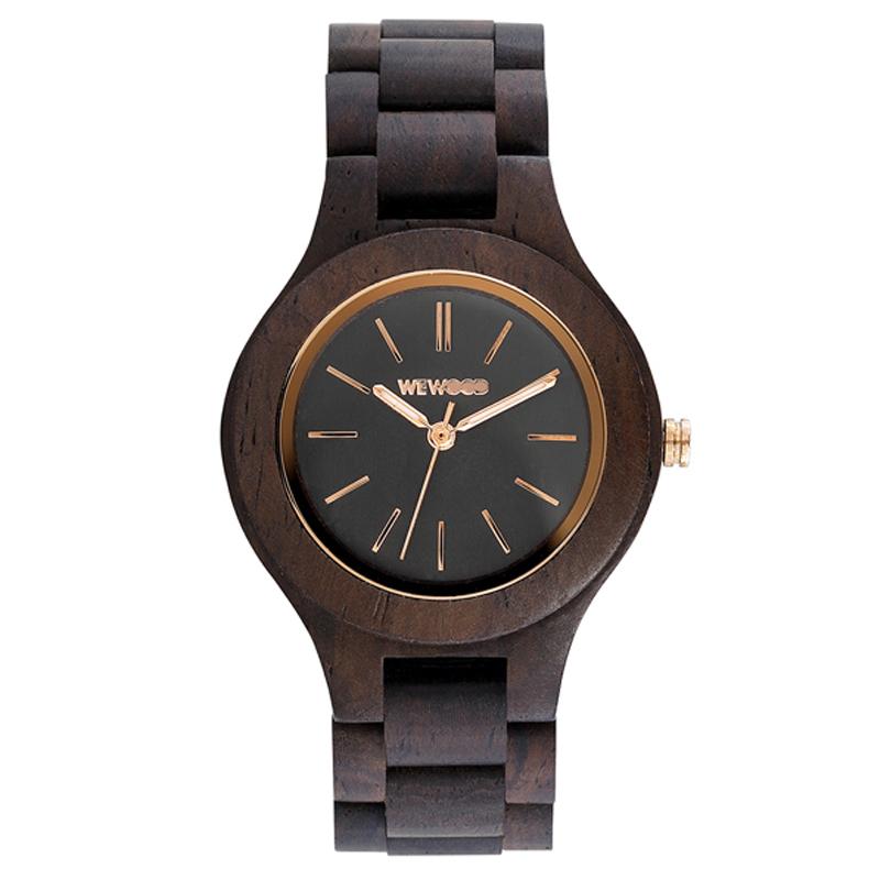 WEWOOD ウィーウッド 正規品 ANTEA CHOCOLATE 木製腕時計 NATURAL WOOD ナチュラルウッド ハンドメイド 9818128 【あす楽】
