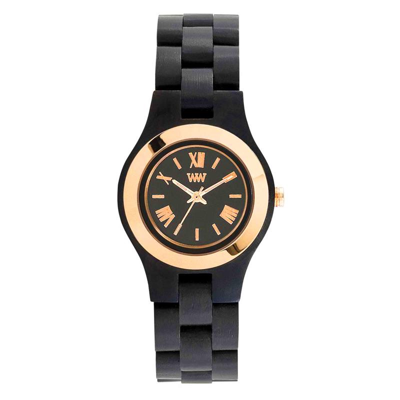 WEWOOD ウィーウッド 正規品 CRISS MB BLACK ROSE 木製腕時計 NATURAL WOOD ナチュラルウッド ハンドメイド 9818149
