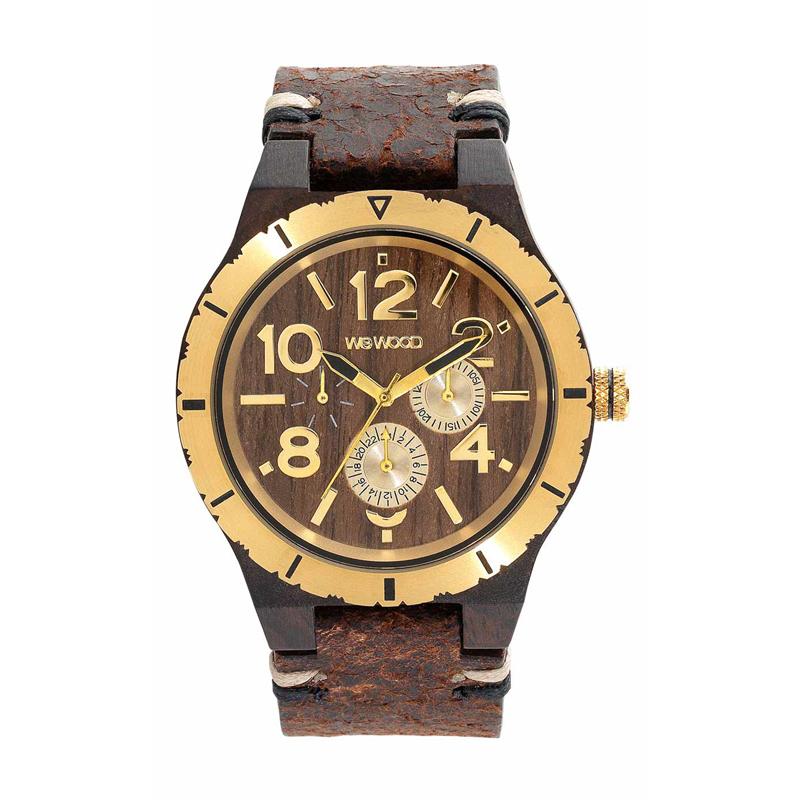 WEWOOD ウィーウッド 正規品 KARDO MB CHOCO GOLD 木製腕時計 NATURAL WOOD ナチュラルウッド ハンドメイド 9818155