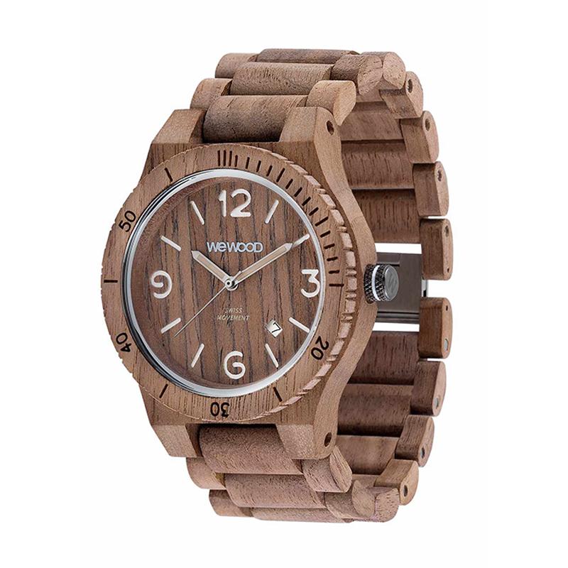 WEWOOD ウィーウッド 正規品 ALPHA SW NUT ROUGH 木製腕時計 NATURAL WOOD ナチュラルウッド ハンドメイド 9818173
