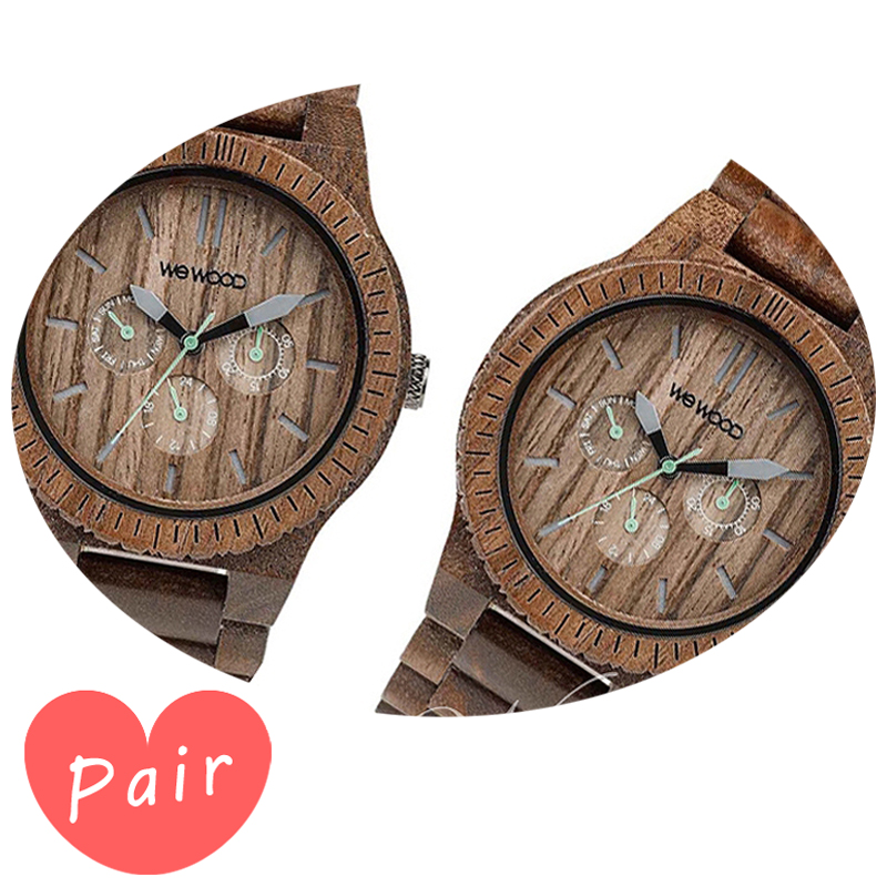 【ペアウォッチ】 【素敵なラッピング付】 WEWOOD ウィーウッド 正規品 腕時計ナチュラルウッド ハンドメイドカッパナットカッパナットwewood-9818030wewood-9818030
