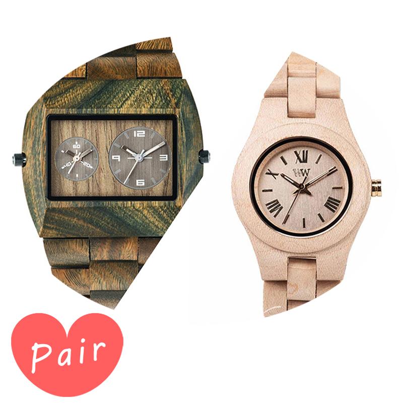 【ペアウォッチ】 【素敵なラッピング付】 WEWOOD ウィーウッド 正規品 腕時計ナチュラルウッド ハンドメイドアーミークリスベージュwewood-9818072wewood-9818044