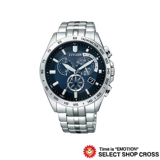 シチズン CITIZEN ウオッチラインナップ WATCH LINEUP シチズンコレクション CITIZEN COLLECTION ソーラー メンズ 腕時計 at3000-59l シルバー×ブルー
