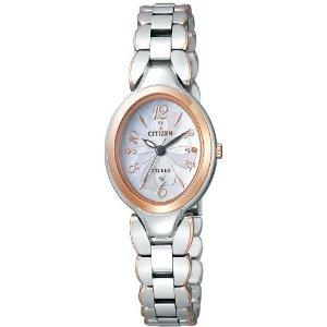 シチズン CITIZEN ウオッチラインナップ WATCH LINEUP エクシード EXCEED エコ・ドライブ レディース 腕時計 ブランド ex2044-54w シルバー×ピンク(蝶貝文字板)