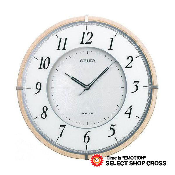 セイコー クロック SEIKO CLOCK 電波 掛時計 SF501B ブラウン 正規品 【着後レビューを書いて1000円OFFクーポンGET】