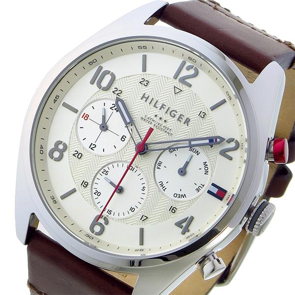 トミー ヒルフィガー TOMMY HILFIGER クオーツ メンズ 腕時計 1791208 ホワイト