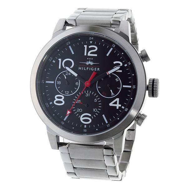 トミー ヒルフィガー TOMMY HILFIGER クオーツ メンズ 腕時計 1791234 ブラック