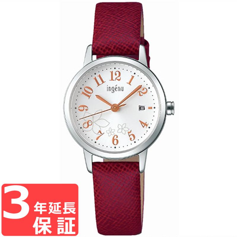 SEIKO セイコー ingenu アンジェーヌ クオーツ レディース 腕時計 ブランド AHJK443 正規品