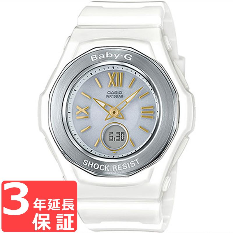 【3年保証】 CASIO カシオ BABY-G ベビージー 電波ソーラー レディース 腕時計 ブランド 電波時計 BGA-1050GA-7BJF
