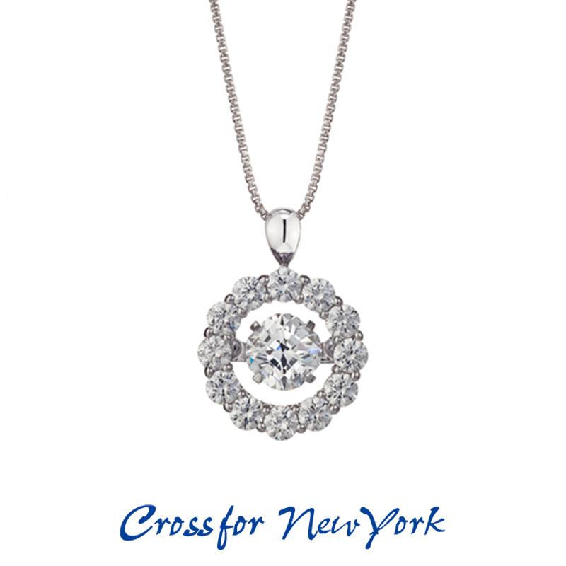 クロスフォー Crossfor ニューヨーク レディース ネックレス Dancing Mother NYP-536 ダンシングストーン