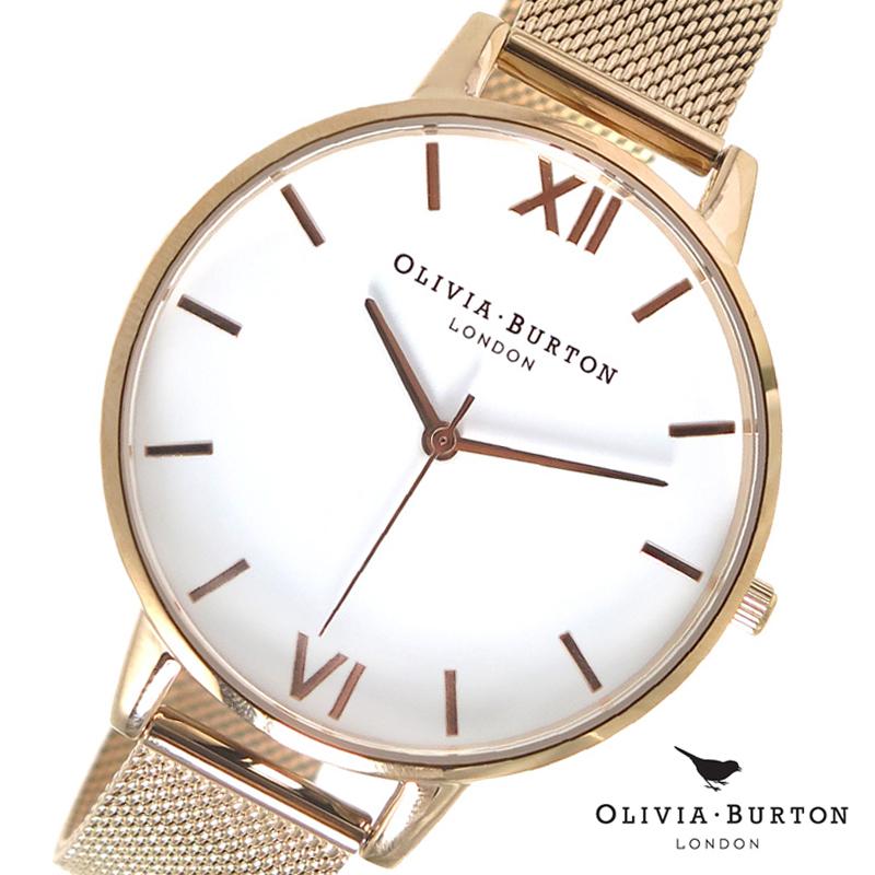 オリビアバートン 腕時計 Olivia Burton 時計 オリビアバートン 時計 Olivia Burton 腕時計 レディース 腕時計 OB15BD79 ホワイト×ピンクゴールド オリビアバートン 腕時計