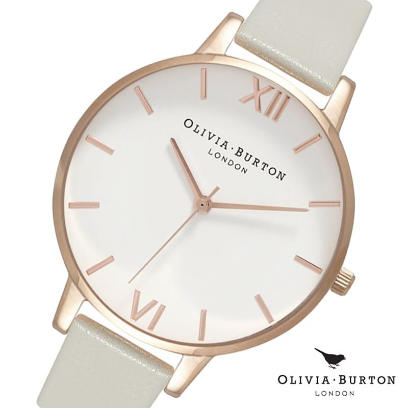 オリビアバートン 腕時計 Olivia Burton 時計 オリビアバートン 時計 Olivia Burton 腕時計 レディース 腕時計 OB15BDW02 ホワイト×グレー オリビアバートン 腕時計