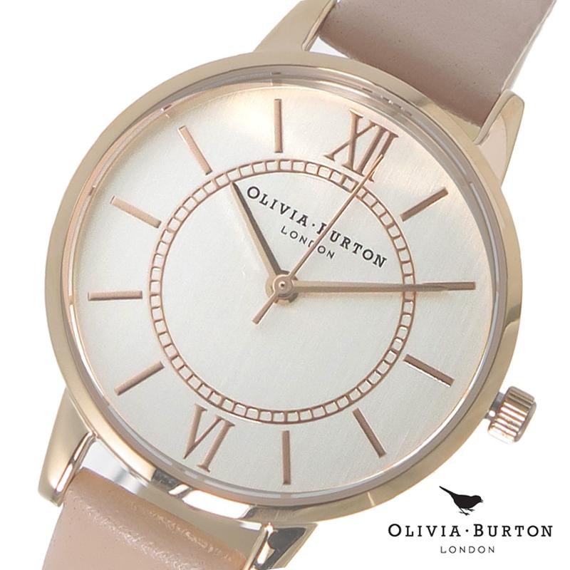 オリビアバートン 腕時計 Olivia Burton 時計 オリビアバートン 時計 Olivia Burton 腕時計 レディース 腕時計 OB15WD28 シルバー×ピンクベージュ オリビアバートン 腕時計