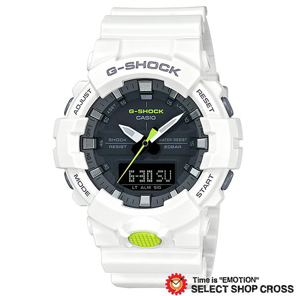 【名入れ対応】 【3年保証】 カシオ CASIO G-SHOCK Gショック 防水 ジーショック 腕時計 メンズ GA-800SC-7ADR ホワイト 白