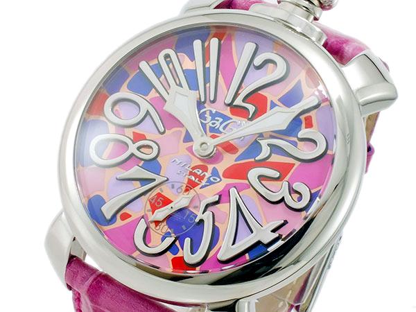 ガガ ミラノ GAGA MILANO マニュアーレ 48mm 手巻き メンズ 腕時計 5010 MOSAICO2S