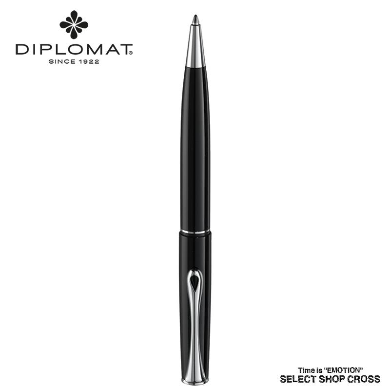 ディプロマット DIPLOMAT ボールペン Esteem エスティーム Black Lacquer ブラックラッカー 1957355 正規品 名入れ 【あす楽】