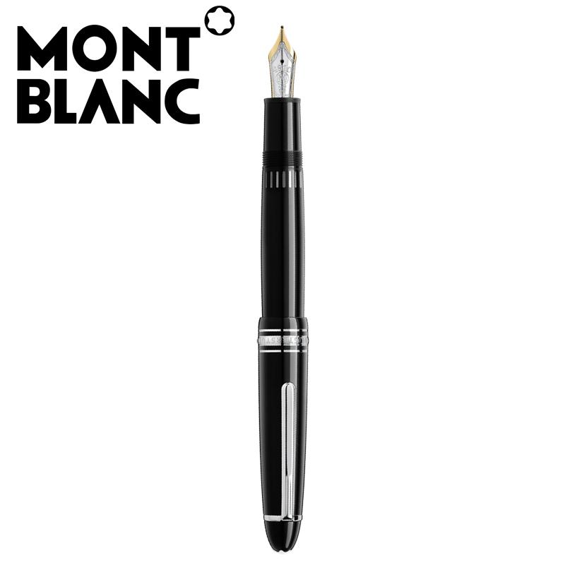モンブラン MONTBLANC マイスターシュテュック プラチナコーティング ル・グラン 万年筆 P146BK