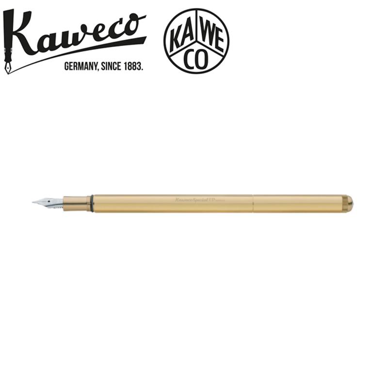 カヴェコ KAWECO 万年筆 スペシャル ブラス Mサイズ ゴールド KAWECO-PS-FPBR 正規品 名入れ