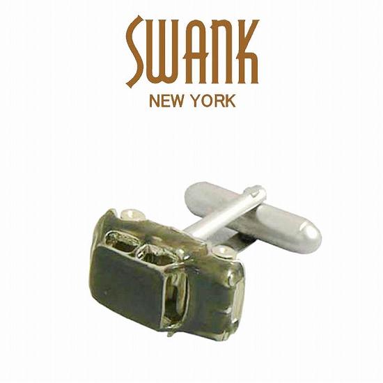 スワンク SWANK ミニクーパーのカフス(ブラック) C0083