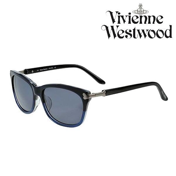 ヴィヴィアン ウエストウッド VIVIENNE WESTWOOD サングラス VW 9704NC ネイビーn0wO8kP