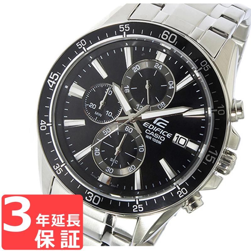 c336b4f6e0 カシオ CASIO エディフィス EDIFICE クロノグラフ クオーツ メンズ 腕時計 EFR-546D-1AV ブラック