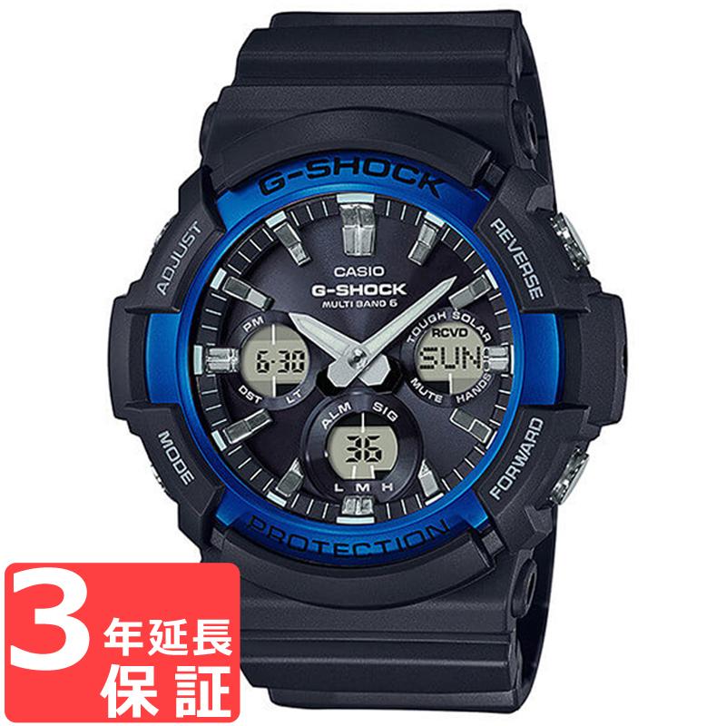 【無料ギフトバッグ付き】 【名入れ対応】 【3年保証】 カシオ CASIO Gショック G-SHOCK ジーショック タフソーラー アナデジ ブラック メンズ 腕時計 GAS-100B-1A2DR